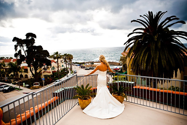 Bride at the Grande Colonial hotel.