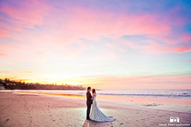 Beachside wedding bliss at La Jolla Beach & Tennis Club.