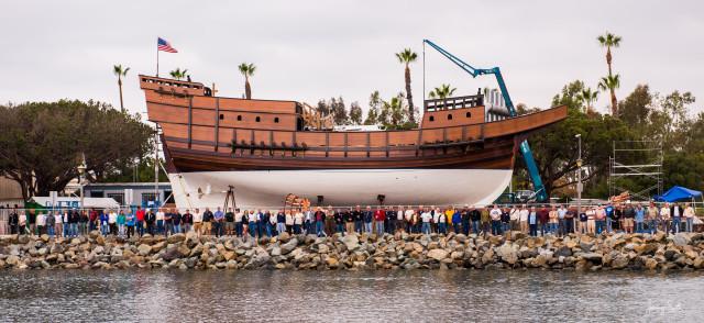 San Salvador Completed - Maritime Museum of San Diego