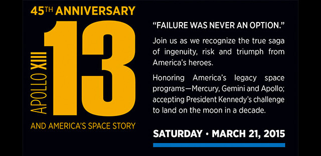 Apollo 13 45th Anniversary - Top Things to Do