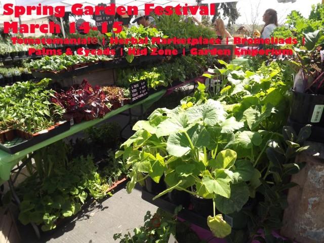 San Diego Botanic Garden's Spring Garden Festival and Tomatomania