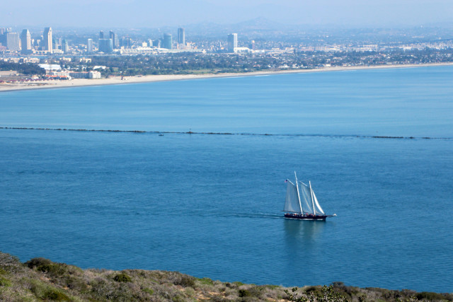 Bayside Trail View - Cabrillo National Monument