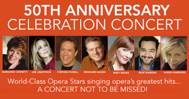 San Diego Opera's 50th Anniversary Celebration Concert - Top Things to Do