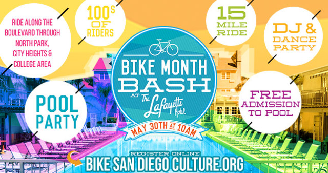 Bike Month Bash & Pool Party