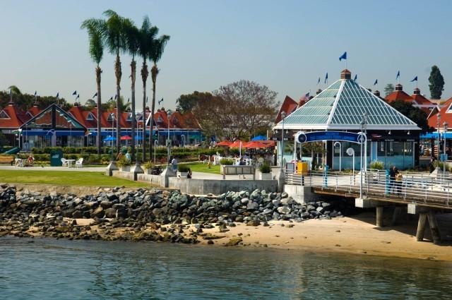 Coronado Ferry Landing Bayside
