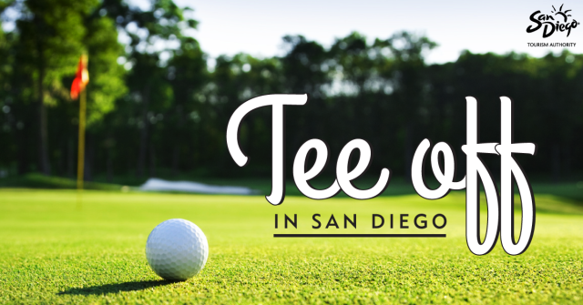 Golf Infographic - Tee Off in San Diego