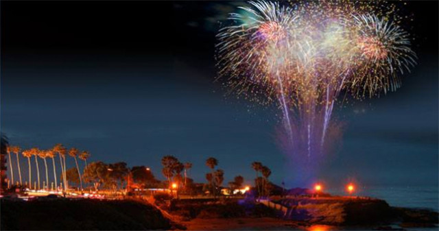 La Jolla Cove 4th of July Fireworks