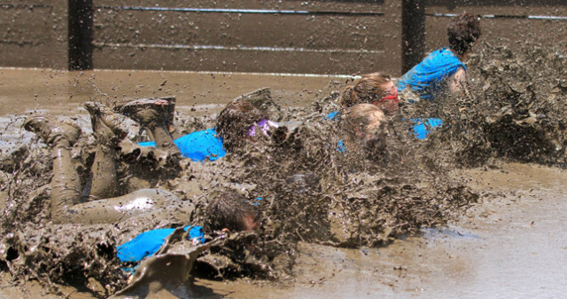 World Famous Mud Run at Camp Pendleton