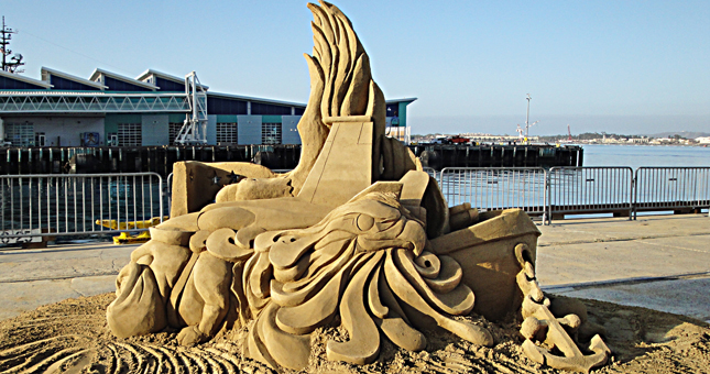 US Sand Sculpting Challenge and Dimensional Art Exposition