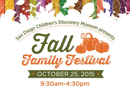 San Diego Children's Discovery Museum Fall Family Festival