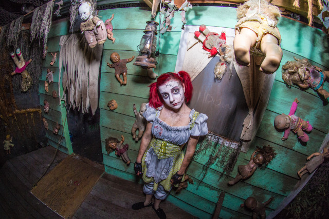 Haunted houses trails and hotels in san diego 2015 for Haunted hotel in san diego
