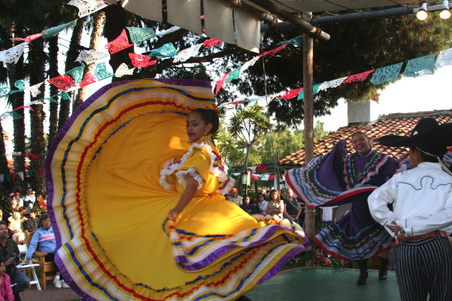 Folklorico dancers at Old Town State Historic Park