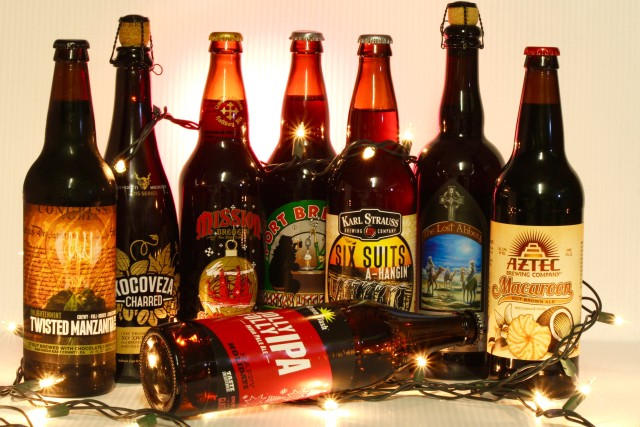 8 San Diego Brews Spreading Holiday Beer Cheer