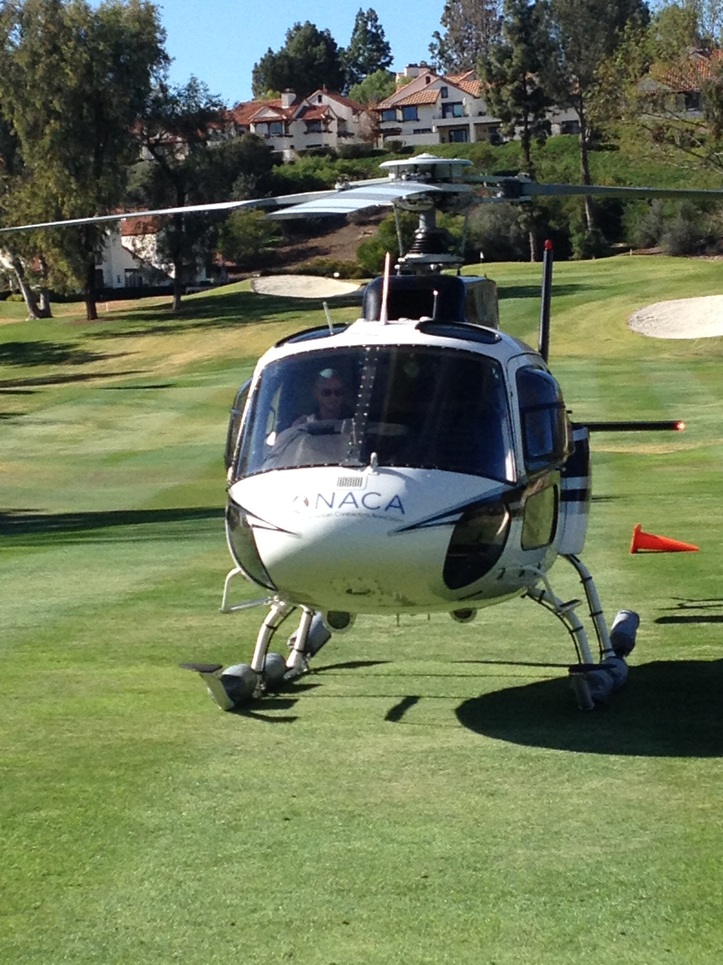 Rancho Bernardo Inn Helicopter