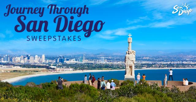 Journey Through San Diego Sweepstakes