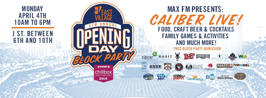 East Village Opening Day Block Party