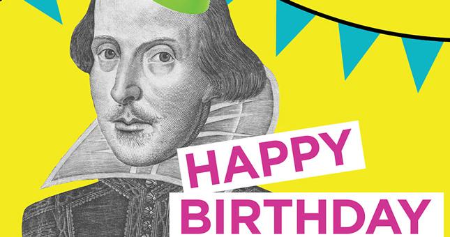 Happy Birthday Mr. Shakespeare