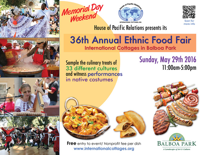 House of Pacific Relations' Ethnic Food Fair