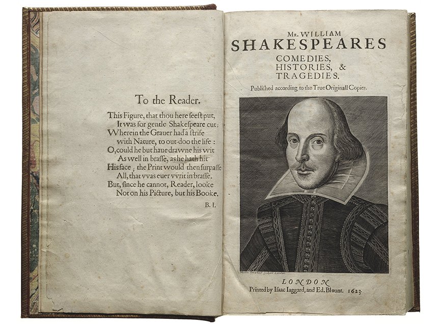 First Folio! San Diego 2016
