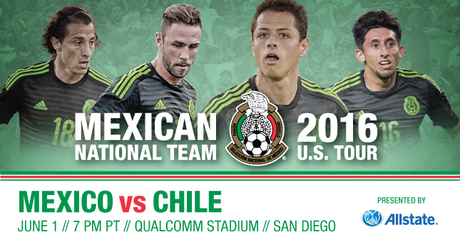 2016 Mexican National Team U.S. Tour