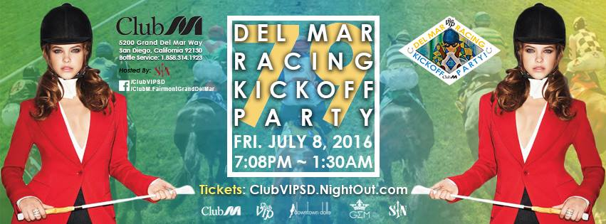 79th Del Mar Racing Kickoff Party