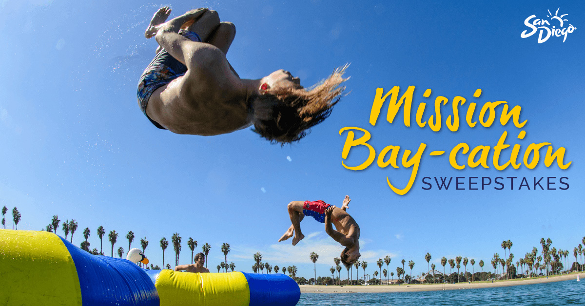 Mission Bay-cation Sweepstakes
