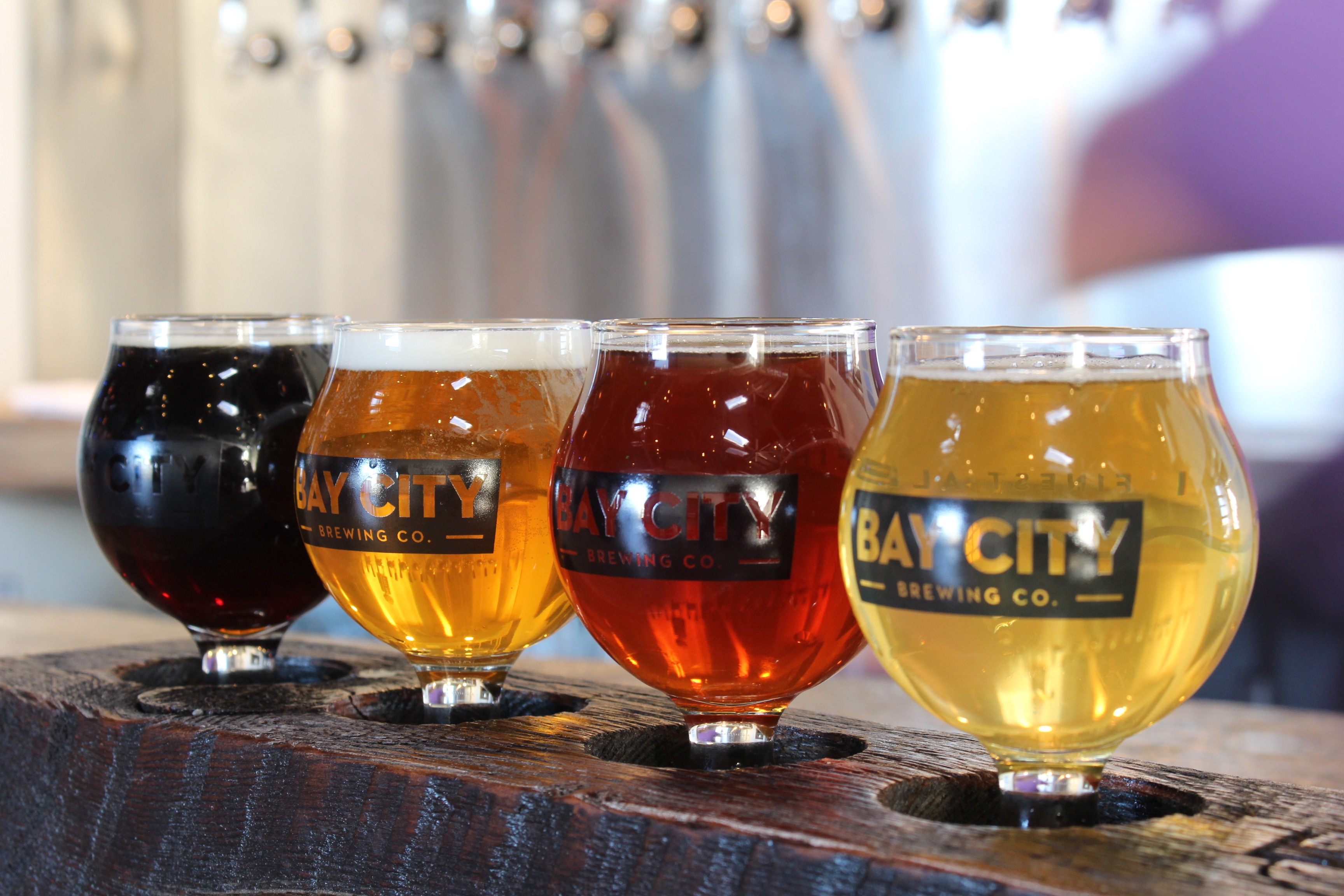 Bay City Brewing Tasters