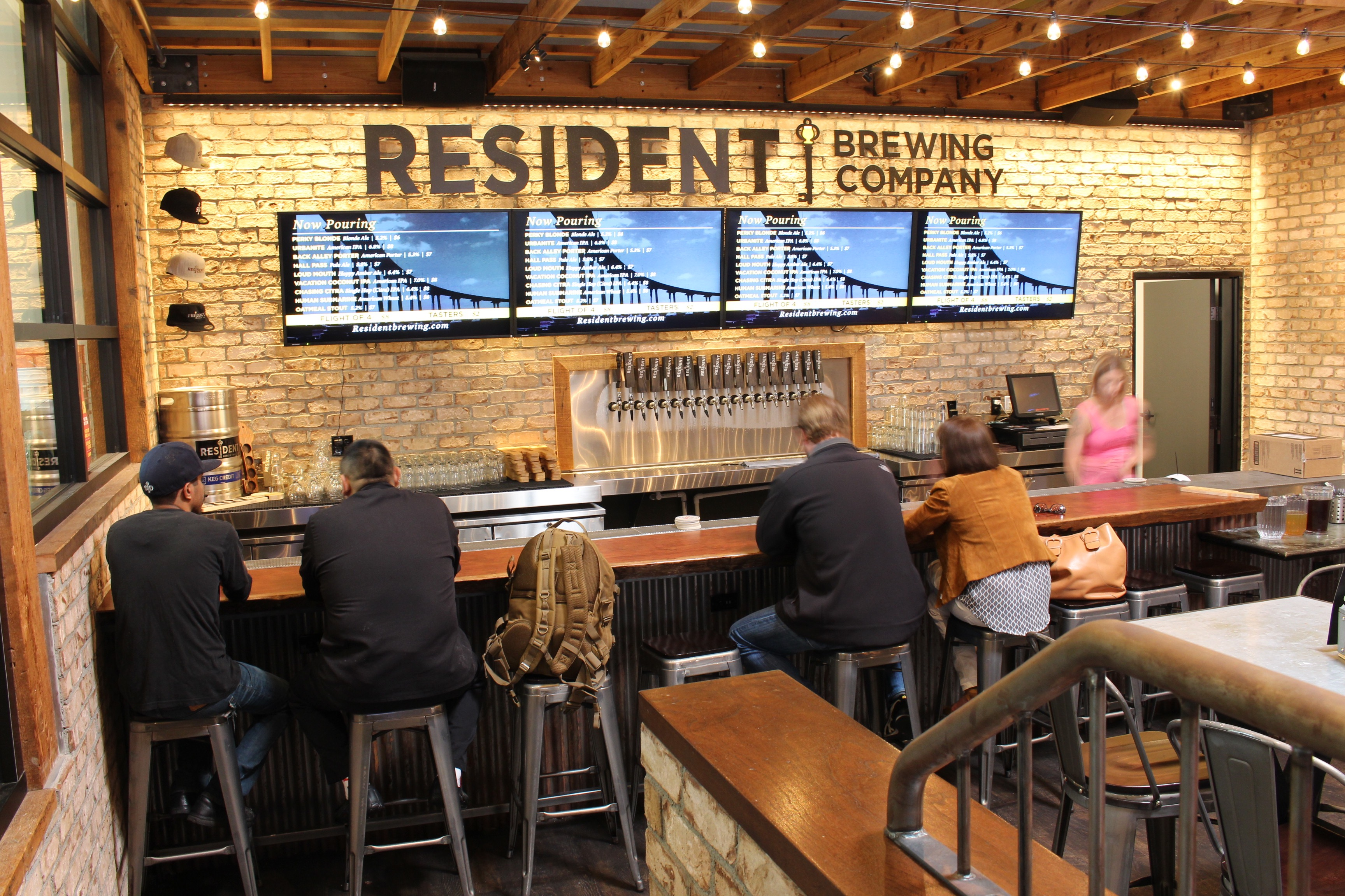 Resident Brewing Tasting Room