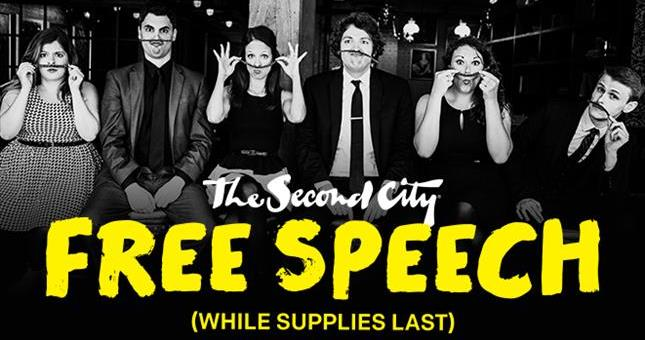 The Second City's Free Speech!