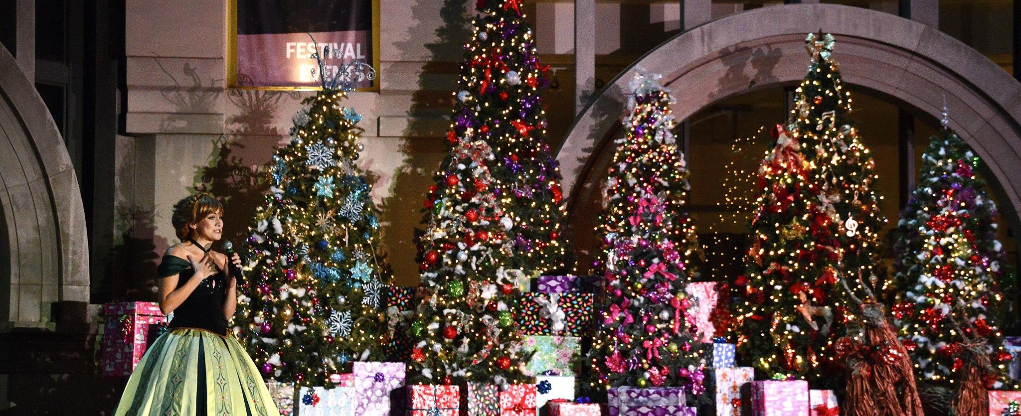 Holiday Tree Lighting & Winter Wonderland Festival