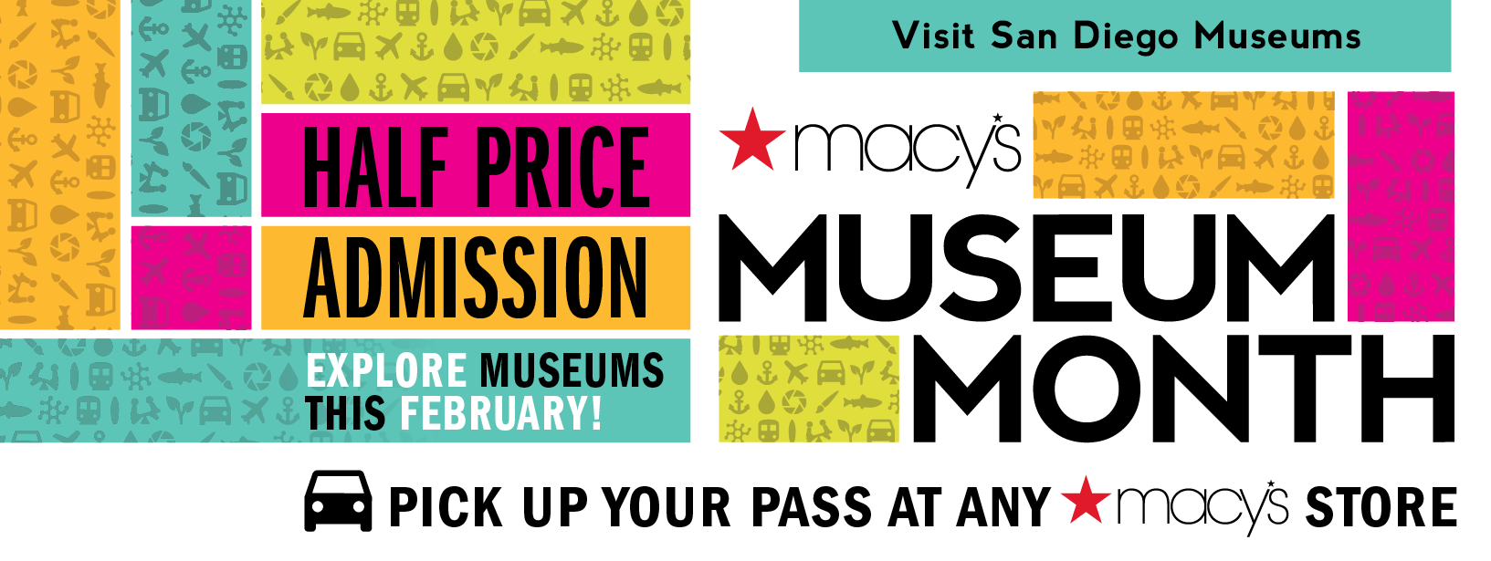 Macy's Museum Month 2017 - Top Things to Do in San Diego
