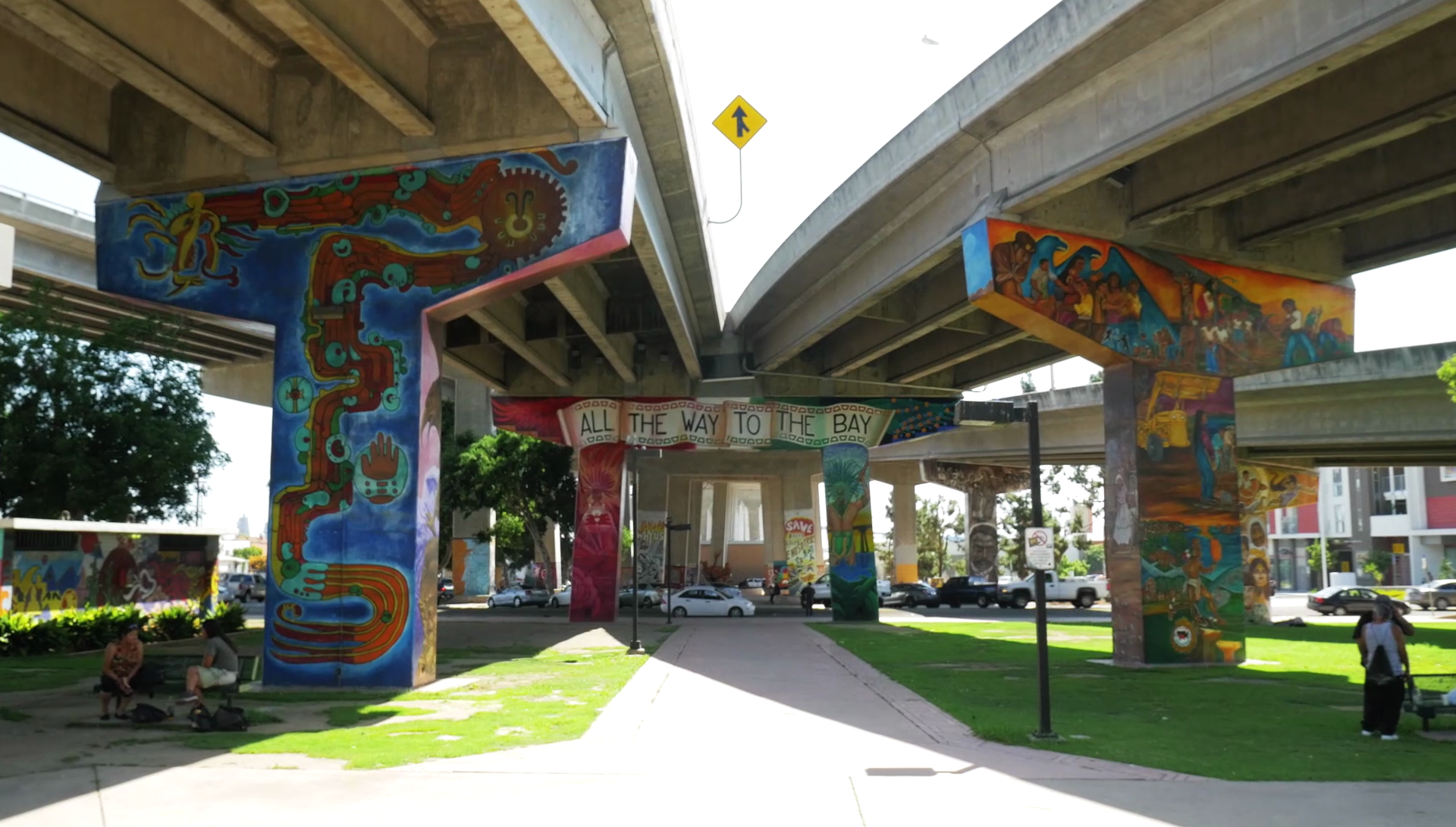 Chicano Park in Barrio Logan