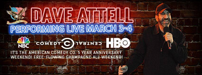 Dave Attell - American Comedy Co. 5th Anniversary Weekend