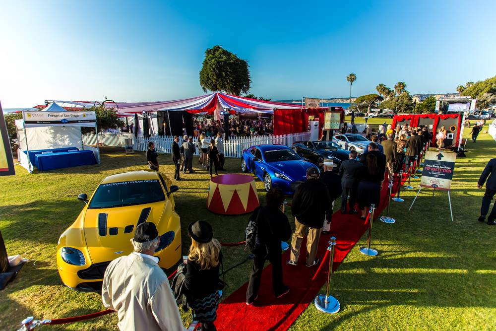 Bentley Motors VIP Reception at La Jolla Concours