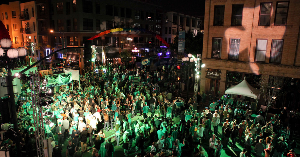 Celebrate Saint Patrick's Day in San Diego
