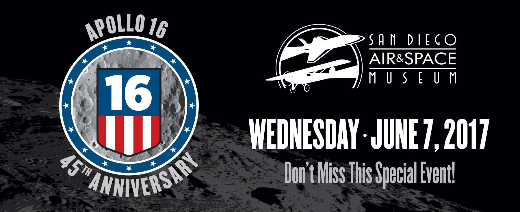 America Celebrates the 45th Anniversary of Apollo 16