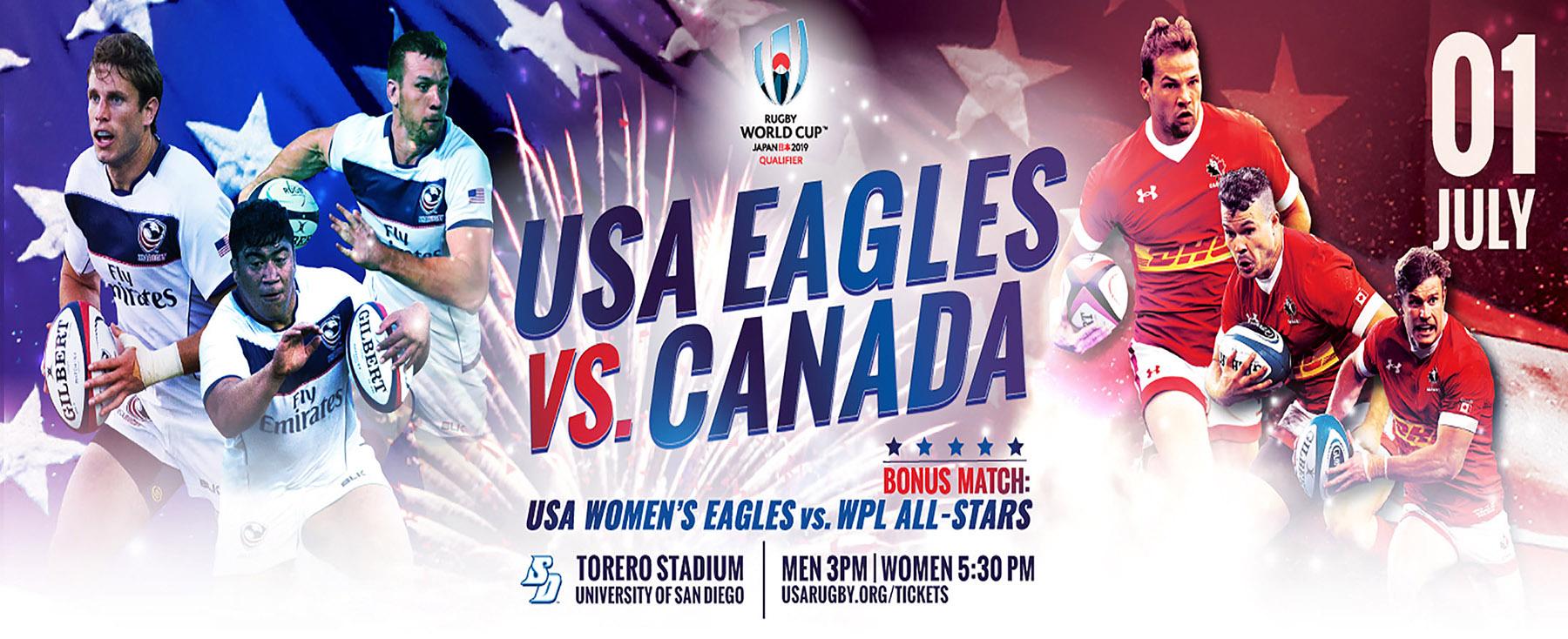 USA Rugby Men's National Team v Canada