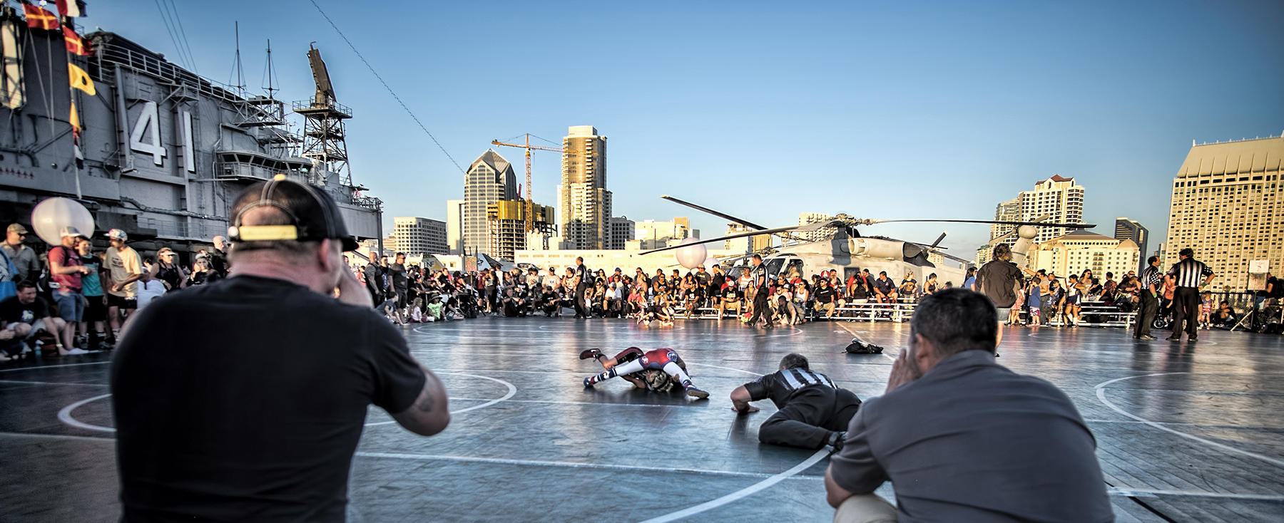 Battle On The Midway - An American Wrestling Experience