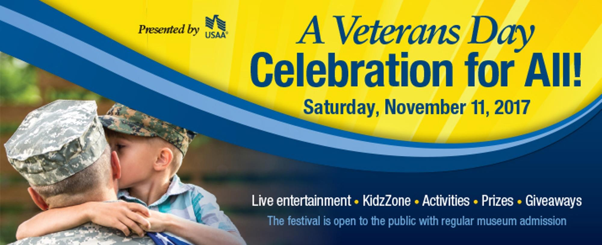 A Veteran's Day Celebration for All!