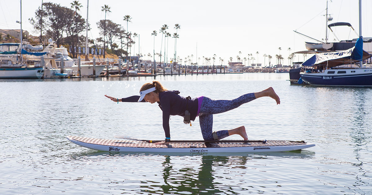 SUP Yoga - 6 Fun Fitness Activities to Enjoy in San Diego