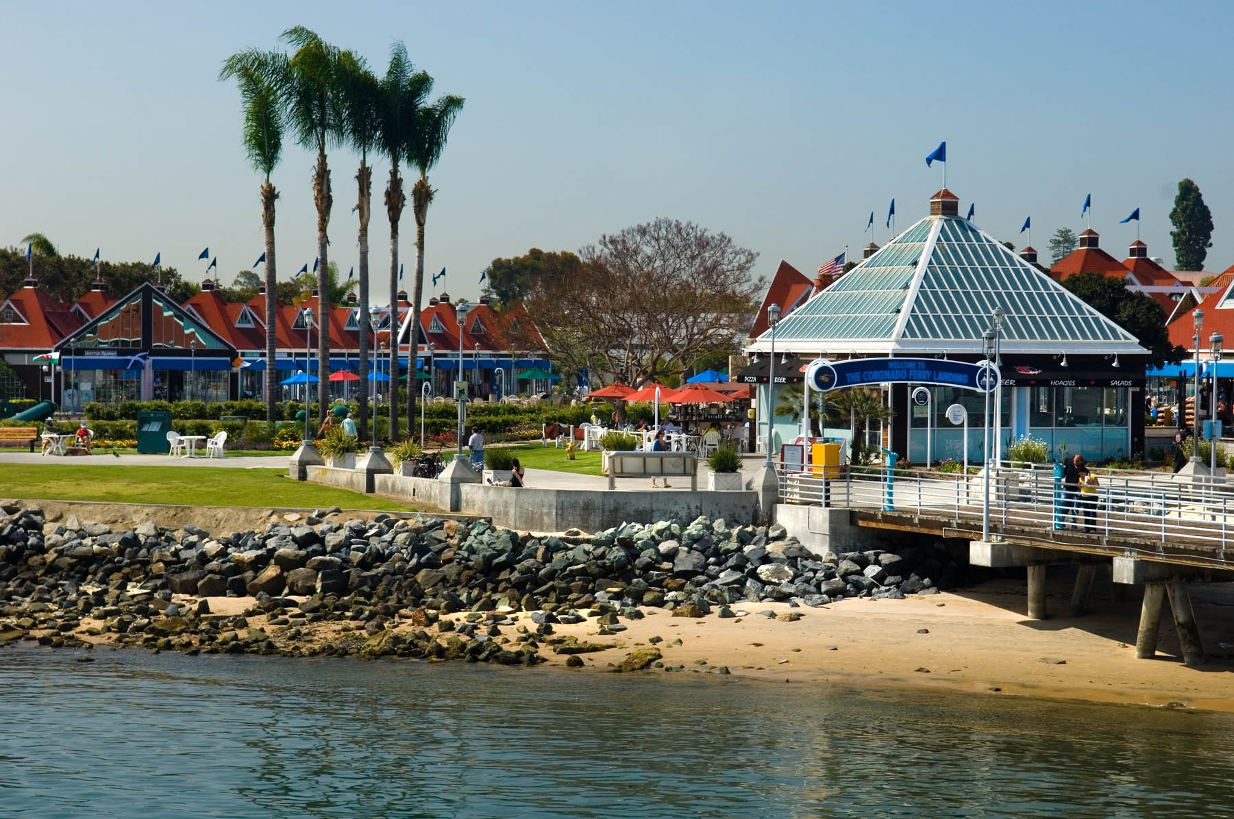 Coronado Ferry Landing Shops Bayside San Diego Travel Blog