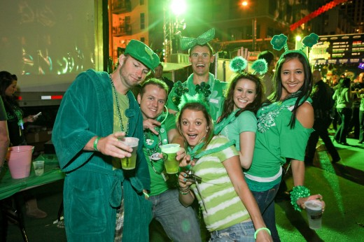 Shamrock in the Gaslamp Quarter