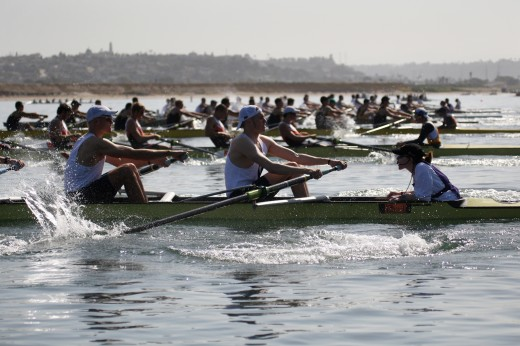 San Diego Crew Classic - After the Start