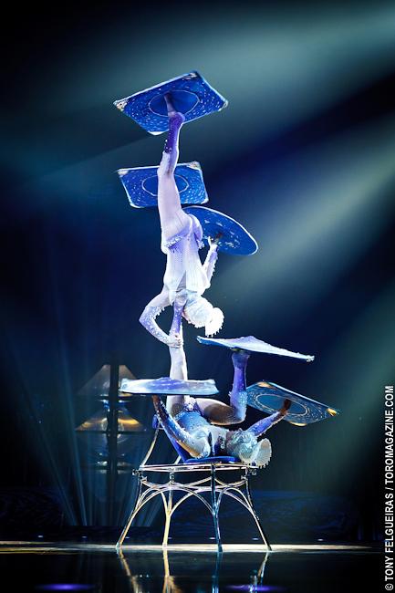 Cirque Du Soleil Totem Galaxy Girls San Diego Travel Blog