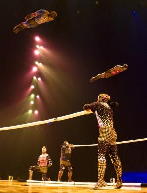 Cirque du Soleil TOTEM - Planking