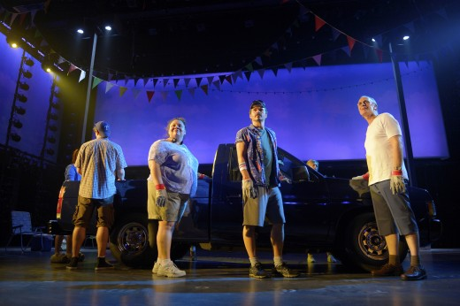 Hands on a Hardbody Cast - La Jolla Playhouse