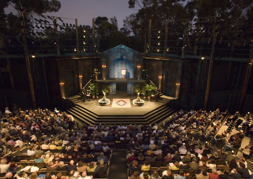 Shakespeare Festival - Lowell Davies at the Old Globe Theatre