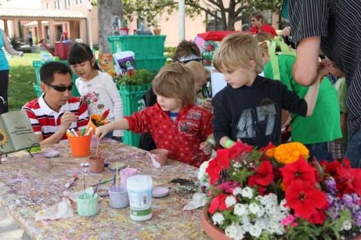 Painting - Kidsfest San Diego