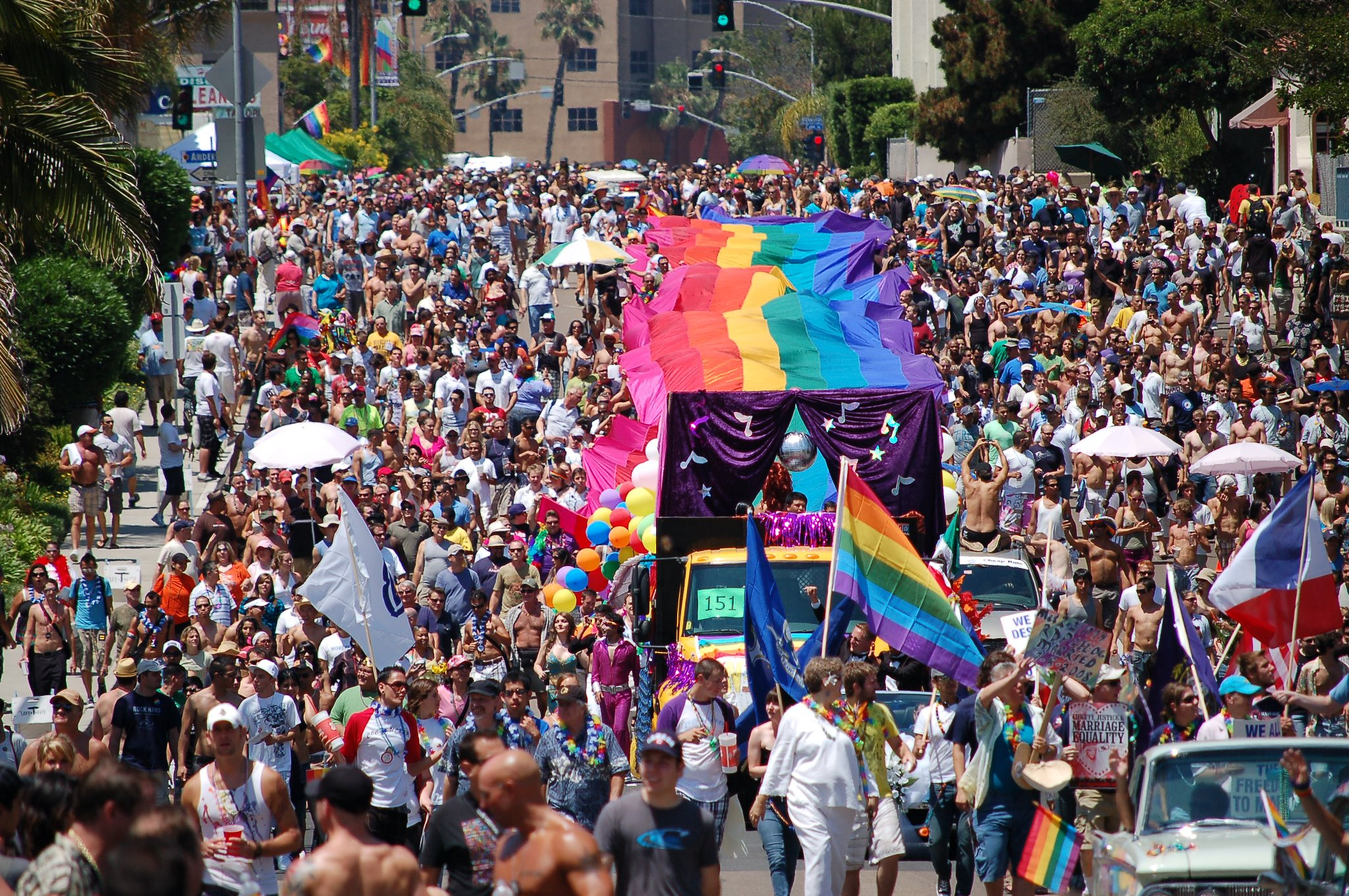 San diego lgbt pride parade and festival san diego for Things to do in nyc next weekend