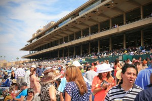 Opening Day at the Del Mar Racetrack